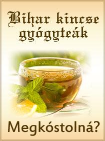 Gyógynövényes teák Biharból!